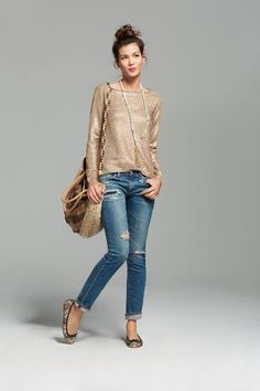 Discover casual chic looks for Fall! @Kristen Kyslinger St. Barth