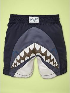 Awww....shark butt. Ritchie can always use 2 pairs of trunks