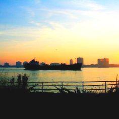 Morning in Port Huron