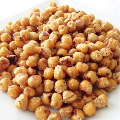 Recipe: Parmesan and Rosemary Roasted Chickpeas
