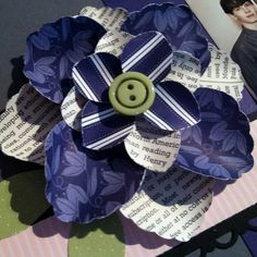 Scrapbooking Flower