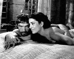 Bekim Fehmiu and Irene Papas in THE ODYSSEY Bekim is Ulysses and Papas is Penelope. This was a mini-series on Italian TV but it was als. Irene Papas, Female Movie Stars, Anthony Quinn, Penelope, Important People, Inspiring People, Classic Actresses, Orson Welles, Great Women