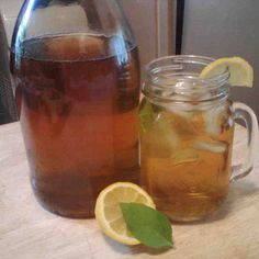 Herb Camomile Iced Tea