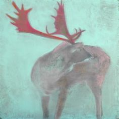 """Painting : """"Guadalupe"""" (Original art by Kim Kimbro) Original Paintings, Original Art, Zoo Animals, Art For Sale, Artwork Online, Animal Pictures, Oil On Canvas, Saatchi Art, Moose Art"""