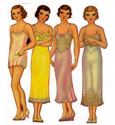 1930's Paper Dolls