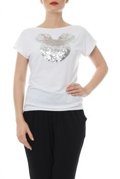 Tricouri - Dona Kyros Tunic Tops, V Neck, T Shirt, Women, Fashion, Supreme T Shirt, Moda, Tee, Women's