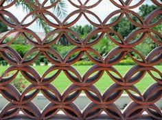 Image result for roof tiles as garden edging