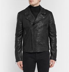 Burberry Brit - Leather Biker Jacket | MR PORTER