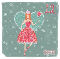 Day 12 - Fairy by Rebecca Stoner www.rebeccastoner.co.uk