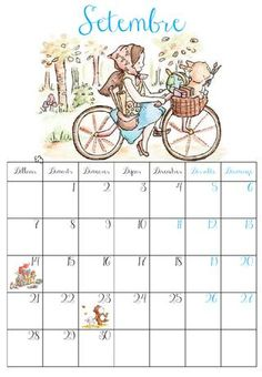 QUÉ HACEMOS HOY EN EL COLE?: NUEVO CALENDARIO CURSO 2015-2016 Free Frames, School Calendar, Holly Hobbie, Letter Sounds, Teaching Reading, Letters And Numbers, Classroom Organization, Phonics, Printables