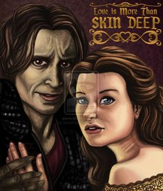 OUaT - Skin Deep by SnowFright on deviantART ~ Rumplestiltskin & Belle of Once Upon a Time tv series