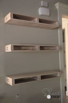 Building the Floating Shelves