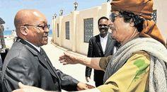 South Africa on roll to return Gaddafi's $ 80 bn to Libya