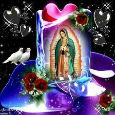 Pin by Lena Cruz on Catholicism Mary Jesus Mother, Blessed Mother Mary, Mary And Jesus, Blessed Virgin Mary, Virgin Mary Painting, Virgin Mary Art, Image Jesus, Jesus Christ Images, Jesus And Mary Pictures