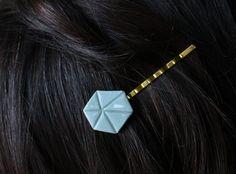 Haarspange ausPorzellan