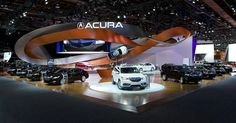 Acura Detroit Auto Show 2014 / 2015 on Behance