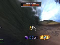 I was looking down a waterfall in Highmountain and saw a skeleton. I crept forward to get a better look. The waterfall then swept me away and I died on impact. My body slid to almost exactly where the skeleton was. #worldofwarcraft #blizzard #Hearthstone #wow #Warcraft #BlizzardCS #gaming