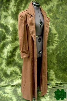 Gambit from X-Men Costume Handmade Coat by fourleafdesigns on Etsy