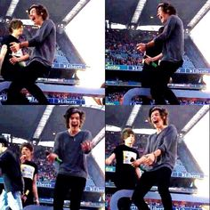 Harrys reaction when he saw a fan shaking a banana is the cutest thing ever he's not twenty<<<don't remind meh