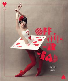 Card Girl / The Washington Ballet's Alice in Wonderland by Design Army