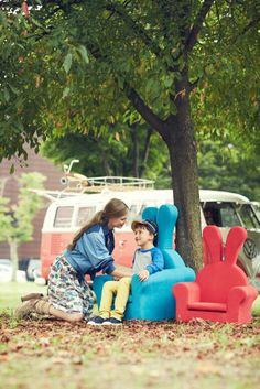 Rabbit original & junior Garden Architecture, Outdoor Furniture Sets, Outdoor Decor, Honeydew, Rabbit, Home And Garden, House Design, The Originals, Baby