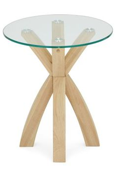 Buy Oak And Glass Side Table from the Next UK online shop