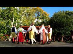 folk dancers at Skansen