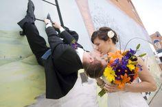 Emily  + Jake :: Iowa City, Iowa Wedding Photography....to Cute
