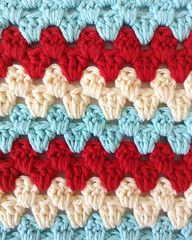 Maggie's Crochet · Stitch Repeat Granny Rows - Free Crochet Patter