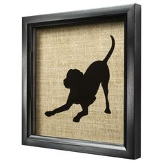 Silhouette Dog Art - Lab from Target. Got this yesterday :)