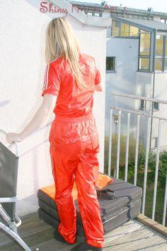 Shiny Swishy Nylon Clothes
