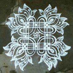 Simple Rangoli Border Designs, Indian Rangoli Designs, Rangoli Designs Latest, Rangoli Designs Flower, Rangoli Ideas, Rangoli Designs With Dots, Easy Rangoli, Beautiful Rangoli Designs, Small Free Hand Rangoli