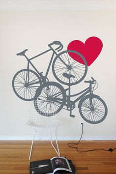 Wall decal for customers