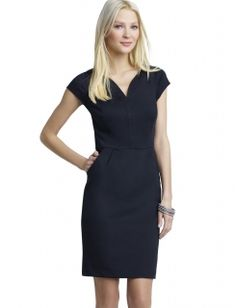 Cap Sleeve Pointe Dress - The Limited