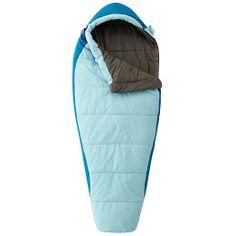 Amazon.com: Mountain Hardwear Unisex Goat Sleeping Bag BLUE Reg RH: Clothing