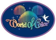 Disney Logo World of Color