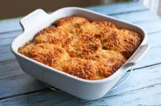 Tex-Mex Beef and Biscuit Casserole: Beef and Biscuit Casserole with Tex-Mex…