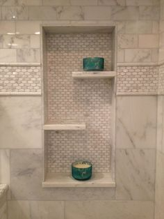 Beautiful Bathroom in wall shelf