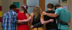 Girl Meets Rah Rah I like how Farkle is so comfortable with his arm around Maya and then Zay over there is just so polite and trying to be a gentleman and it's really funny to me.