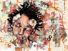 """I love the art of Greenville, South Carolina's own April Harrison. This piece is entitled """"8"""" and was created in 2010."""