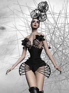Chrysalis – Couture Corset | BOSL Fashion Feed (via Pinterest)