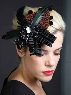 Claudia Duveneck Cocktail Hat