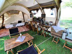 Camping Diy, Backyard Camping, Camping Style, Tent Camping, Outdoor Camping, Glamping, Camping Ideas, Campaign Furniture, Bell Tent