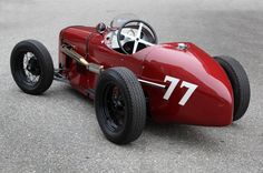 Der Austin Seven Monoposto wirkt viel grösser, als er in Wahrheit ist. The Austin Seven Monoposto looks much bigger than he really is. Old Race Cars, Pedal Cars, Old Cars, Bugatti, Austin Seven, Classic Race Cars, Auto Retro, Vintage Race Car, Go Kart
