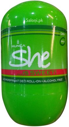HUNCA SHE IS SWEET ROLL-ON DEODORANT 40 ML Saloni™ Health
