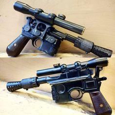 DL-44 Blaster by aaronmerrimanmakes