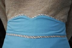Tutorial: Ginger Waistband with Flat Piping | Coletterie