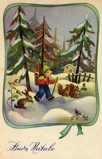 Miss Jane - Vintage Christmas Cards