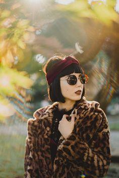 Samantha Mariko: RETRO STEAMPUNK SIDECAR ROUND SIDE COVER SUNGLASSES A766