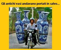 Gli antichi vasi andavano portati in salvo
